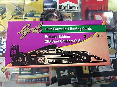Grid Premier Edition 1992 Formula One 200 Card Collector's Set