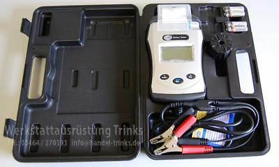 NEU HELLA Midtronics Batterietester mit Drucker 8PD 009 734-011 Batterietest