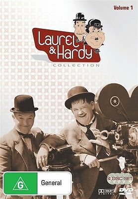 Laurel And Hardy : Collection 1 (DVD, 4 Disc Set, 2009) Region 4