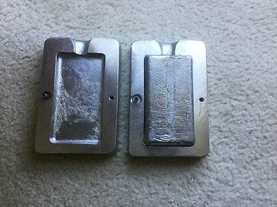 divers 500gm lead weight mould