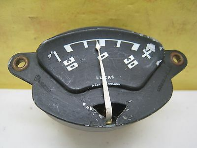 Land Rover Series 2 Jaeger Ammeter #Bs1004.Lu-620014 For Dash Panel Ip3200#04