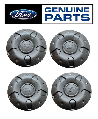 4 x Genuine Ford Transit + Tourneo Custom Steel Wheel Cover Trims Hub Caps