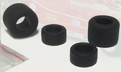 Tron - Front/Rear Spare Tyre Set (4 piece) - Formula One 1980s 1/43 Scale
