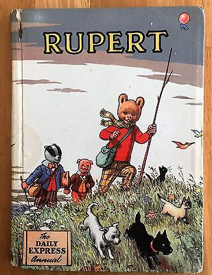 RUPERT ORIGINAL ANNUAL 1955 Not Inscribed Price Clipped G/VG