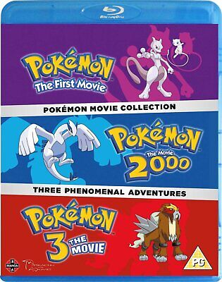 Pokemon Movie 1-3 Collection (Blu-ray)