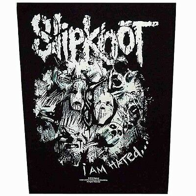 SLIPKNOT i am hated Back Patch XLG free worldwide shipping