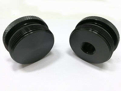 """Fuel Filter Replacement End Cap Set-5/8""""-24&Center marked-4003/24003 BLACK"""
