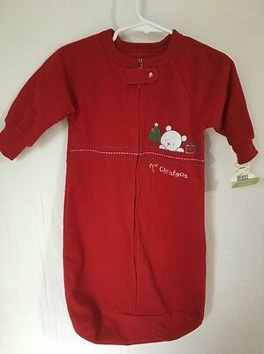 Carters Child Of Mine 1st Christmas Sleep Sack Sleeper Size One Size