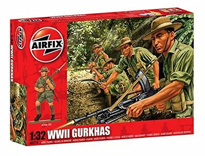 A02719 Airfix WWII GURKHAS Plastic Model 1:72 Scale - New UK