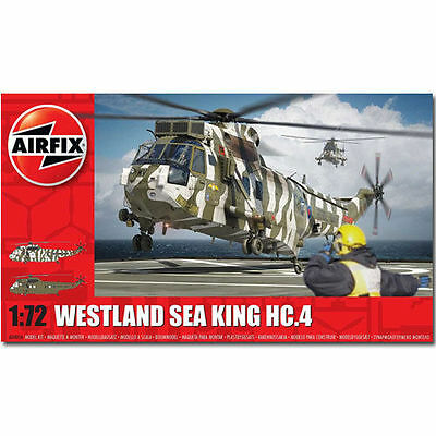 A04056 Airfix Westland Sea King Hc4 Plastic Model Kit 1:72 Scale - New UK