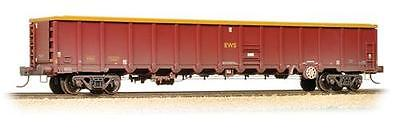 Bachmann 38-243 MBA Megabox High Sided Bogie Box Wagon w. Buffers- EWS Weathered
