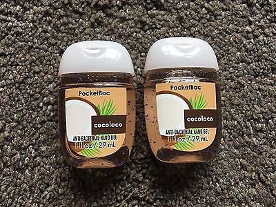 Bath & Body Works 2x Anti-Bacterial Hand Gel USA Exclusive Cocoloco