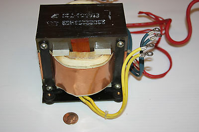 25D82253N03 Eia688-728 Sp--Large Audio Transformer W/cables--Motorola Radios