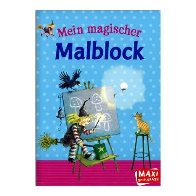 MAXI-Spielspass My magical Drawing pad Children's Paint off 5 J