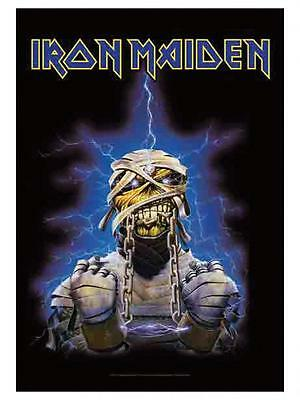 IRON MAIDEN - Mumie - Powerslave - Flagge Posterfahne Textilposter Flag #920877