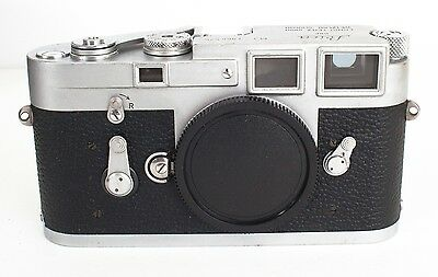Leica M3 Single Stroke Body Ser.# 1,066,576 New Curtain, CLA'd ~ Works perfectly