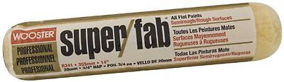 Wooster Brush R241-14 Super/Fab Roller Cover, 3/4-Inch Nap, 14-Inch