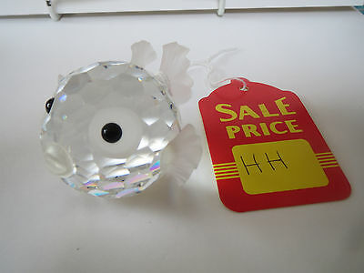 SWAROVSKI Crystal - Large Blowfish - HH