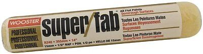 Wooster Brush R240-14 Super/Fab Roller Cover, 1/2-Inch Nap, 14-Inch