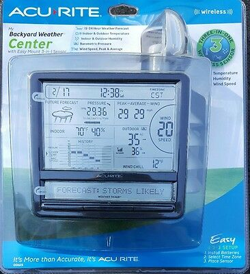 New AcuRite Wireless Digital Weather Station with Scrolling Ticker