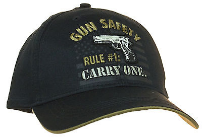 c96cd0be3a1 BUCK WEAR GUN Safety Rule One Adjustable Baseball Cap Hat -  21.70 ...