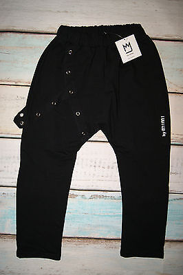 By Mimi BNWT Boys Baggy Style Studs Details Joggers Trousers Age 6-7 Years