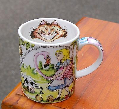 Alice in Wonderland Coffee Mug by Paul Cardew Classic Designed in England