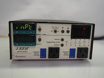 J-KEM Scientific Gemini Dual Channel Temperature Controller