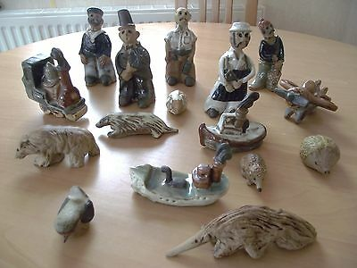 Tremar Potteries Limited - Various Figurines - Made in Cornwall - circa 1970s