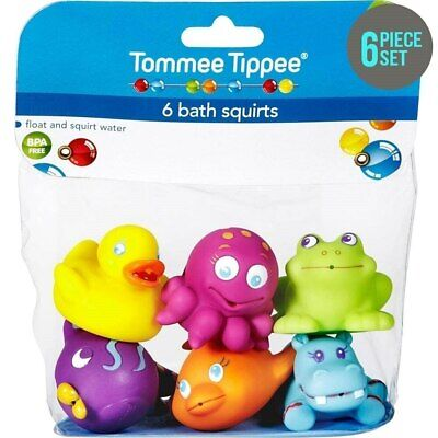 NEW Tommee Tippee 6 Bath Squirts Toys from Baby Barn Discounts
