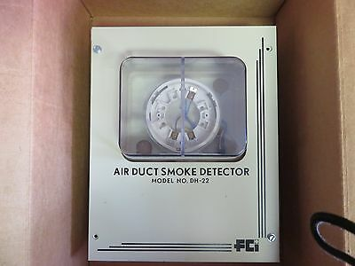 Fire/smoke detector for detection in ductwork. NOS