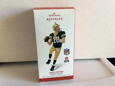 Hallmark 2014 Football Legends Green Bay Packers Aaron Rodgers MIB