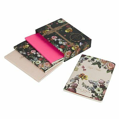 TED BAKER 4 Mini Notebooks Set With Lined Pages