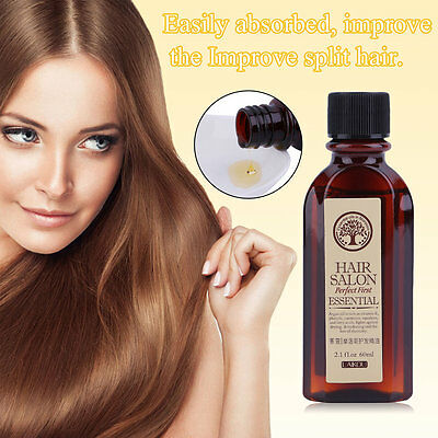 60ML LAIKOU Multifunctional Hair Care Moroccan Pure Argan Oil Dry Hair Oil MU