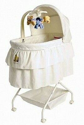 New Childcare Classic Pooh Comfort Baby Bassinet Linen Stand Mobile Sleep