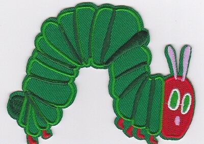 Hungry Little Caterpillar Embroidered Fabric Sew On Iron On Applique Patch Badge