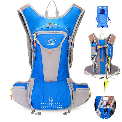 Cycling Sport Backpack with 70 oz 2L Bladder Bag Hydration Packs Hiking Camping