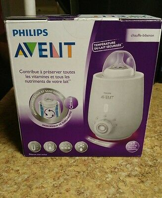 Philips Avent Electric Baby Bottle Warmer Food Infant Feeding NEW IN OPEN BOX