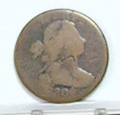 Large Cent; DRAPED BUST; 1806