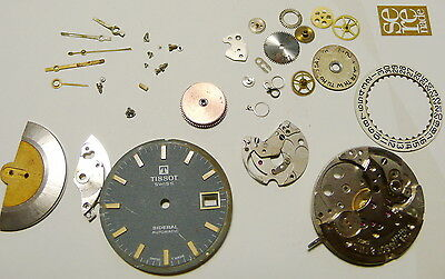 Vintage Tissot Sideral Watch Movement, Cal 784-2 For Parts Only