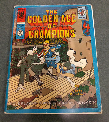 The Golden Age of Champions     Hero Games Firebird Limited   1940's Champions
