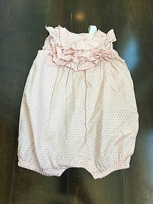 BabyGap:  Girls Size 3-6 Months, Pink Polka Dot One Piece Outfit
