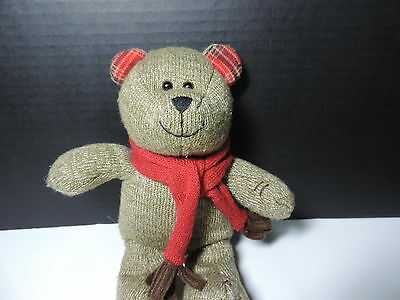 Starbucks 2009 Bearista Plush Holiday  88th Edition Bear