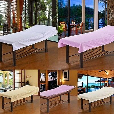 Durable Soft Beauty Salon Sheets SPA Treatment Massage Bed Table Cover Sheets