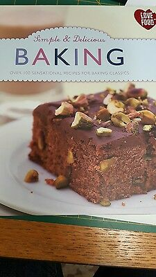 Simple & Delicious Baking by Parragon Book Service Ltd (Hardback, 2012)