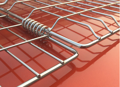 BBQ Grill Basket (Stainless Steel, Heavy Duty)
