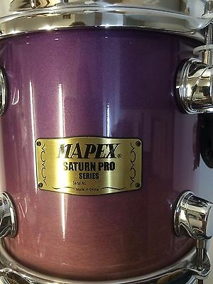 Mapex Saturn 8x8 tom in violet. Old style