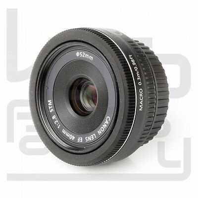 UK Canon EF 40mm f/2.8 STM Pancake Prime Lens F2.8 for EOS