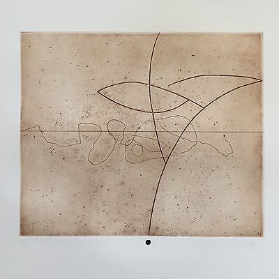 Victor Pasmore (1908-1998) Pencil Signed Etching & Aquatint 1976 Limited Ed
