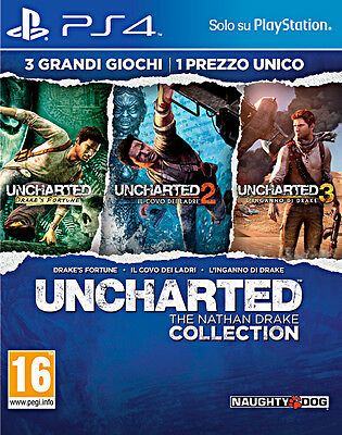 Uncharted: The Nathan Drake Collection - PS4 - NUOVO E ITALIANO